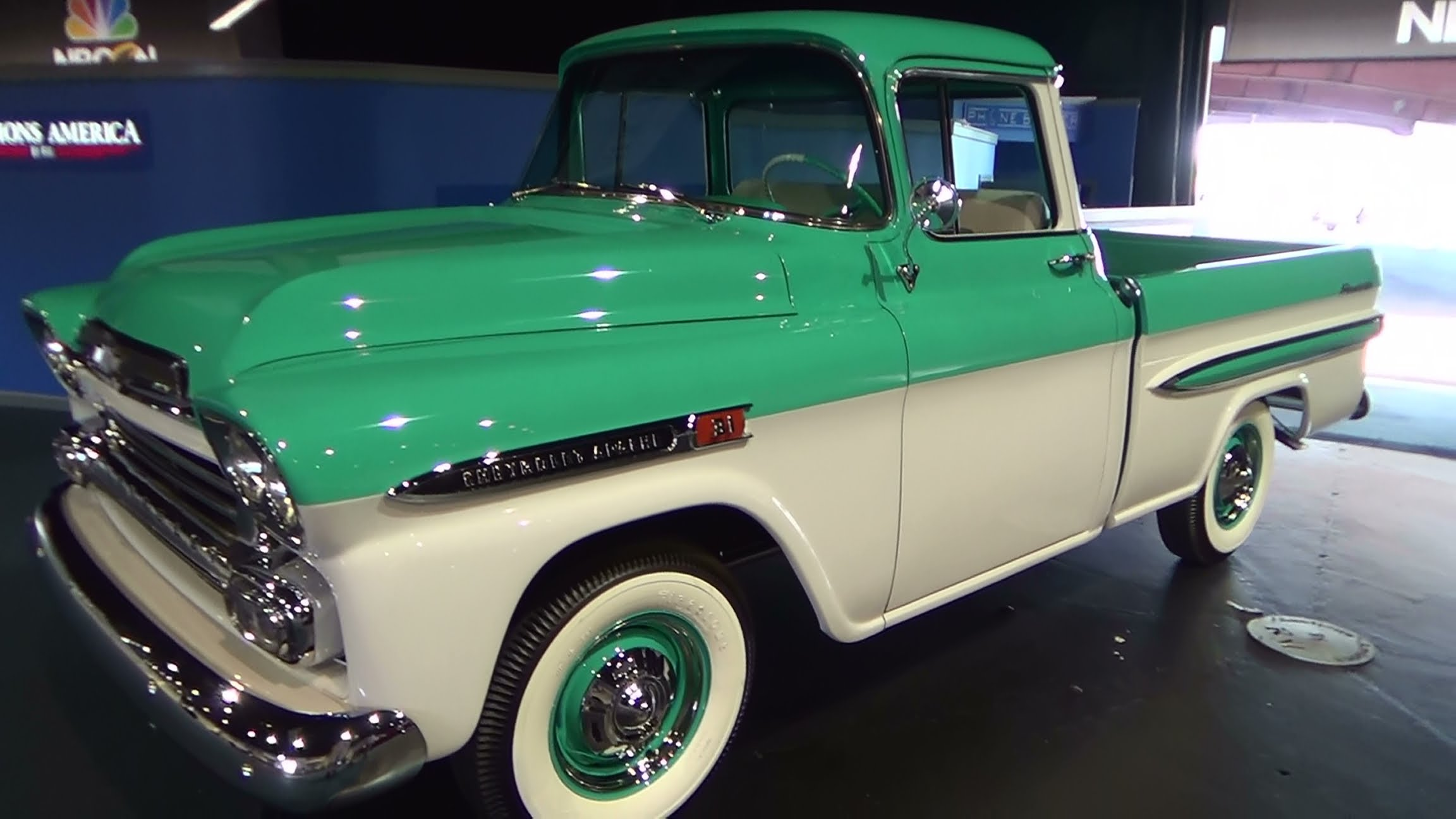 1959 Apache Pick Up ScottieDTV Traveling Charity Road Show ...