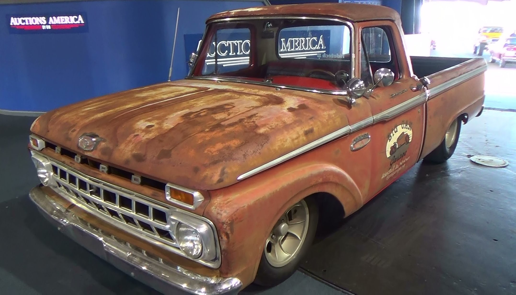 1965 ford f100 shop truck scottiedtv traveling charity road show 2014 scottiedtv coolest cars on the web