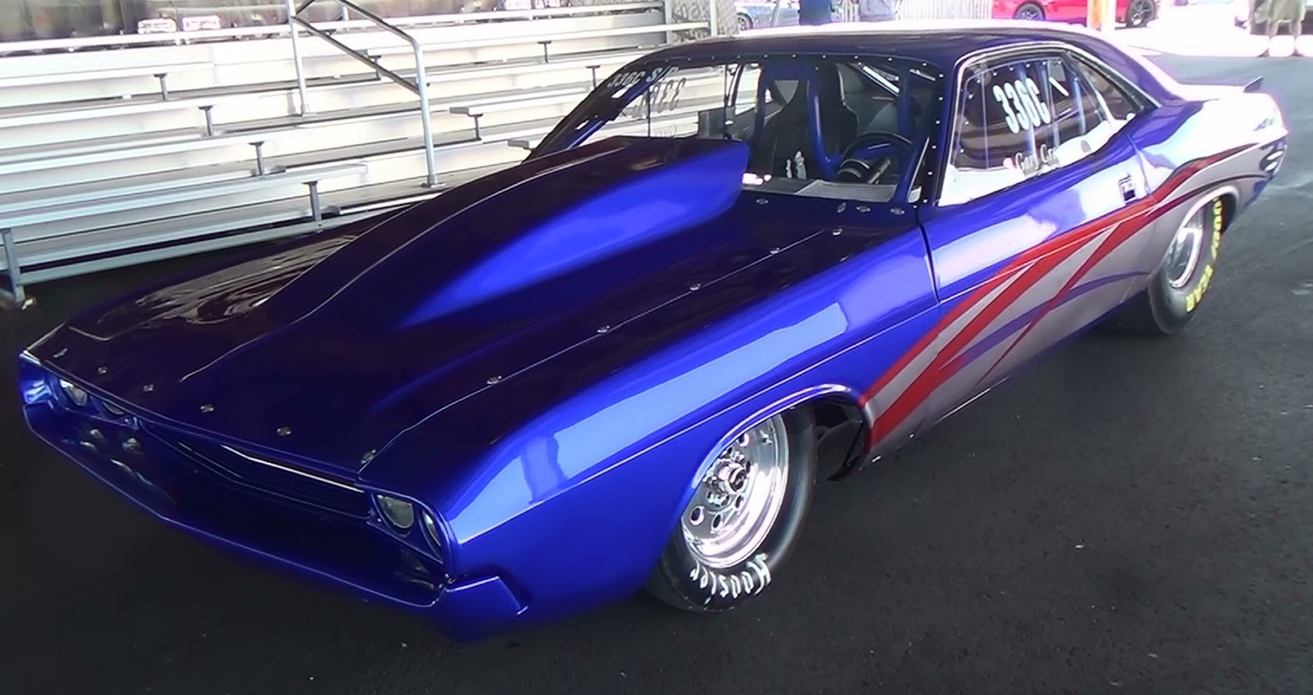 1970 Challenger Drag Car Scottiedtv Traveling Charity Road