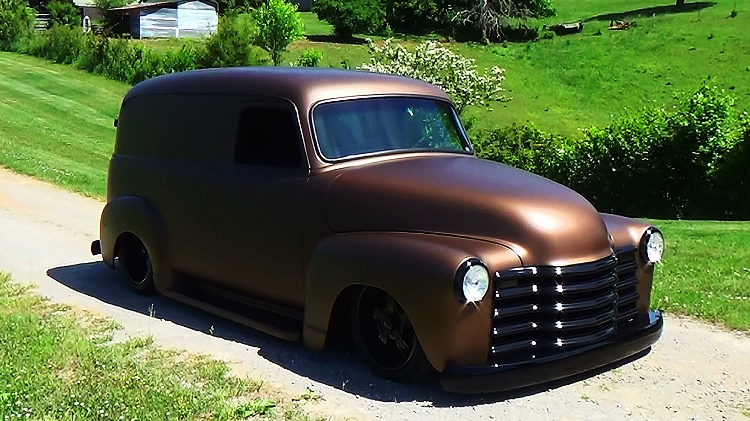 47 Chevrolet Panel Truck Street Rod Hudson And Custom 1949 Chevy Rat Scottiedtv Coolest Cars On The Web