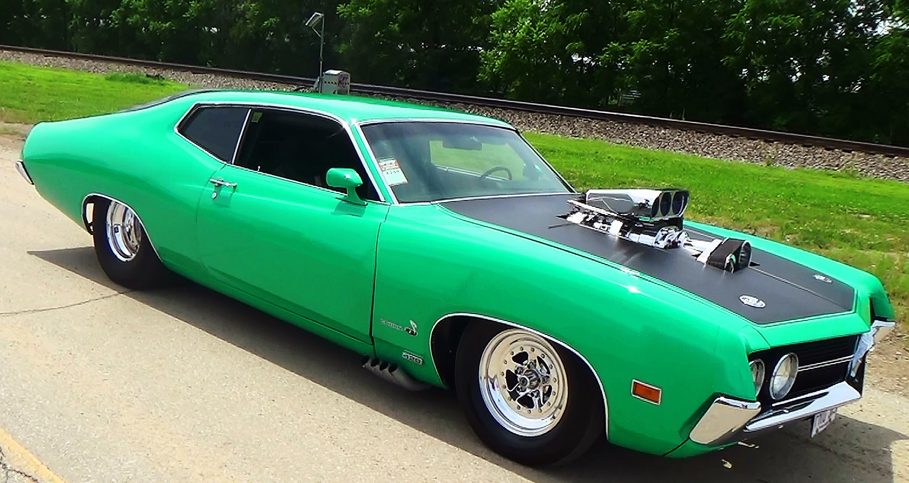 70 Torino Cobra Jet Pro Street Goodguys PPG Nationals 2015 - ScottieDTV - Coolest Cars On The Web