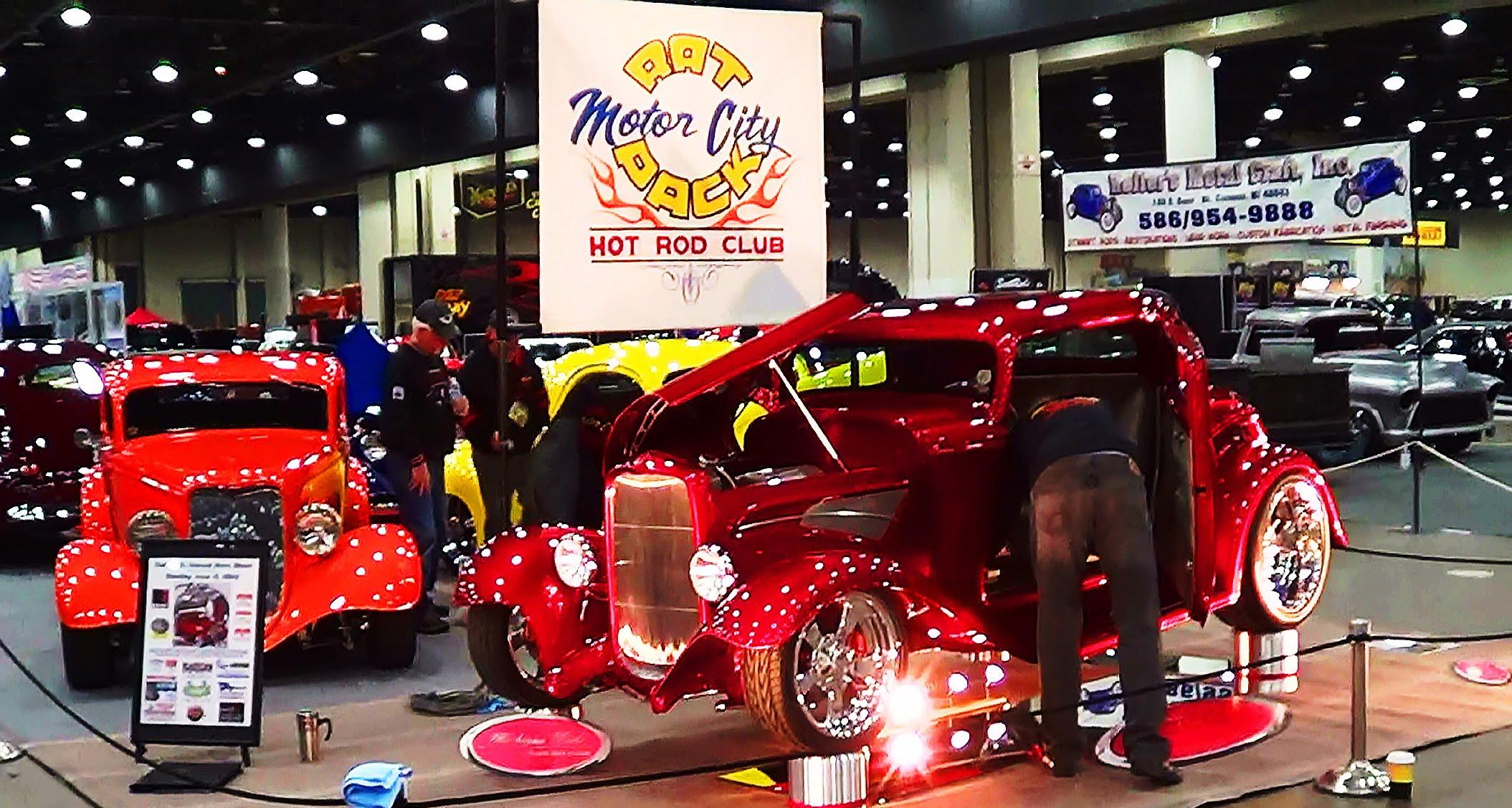 Motor city rat pack car club detroit autorama 2013 for Auto motor club comparisons