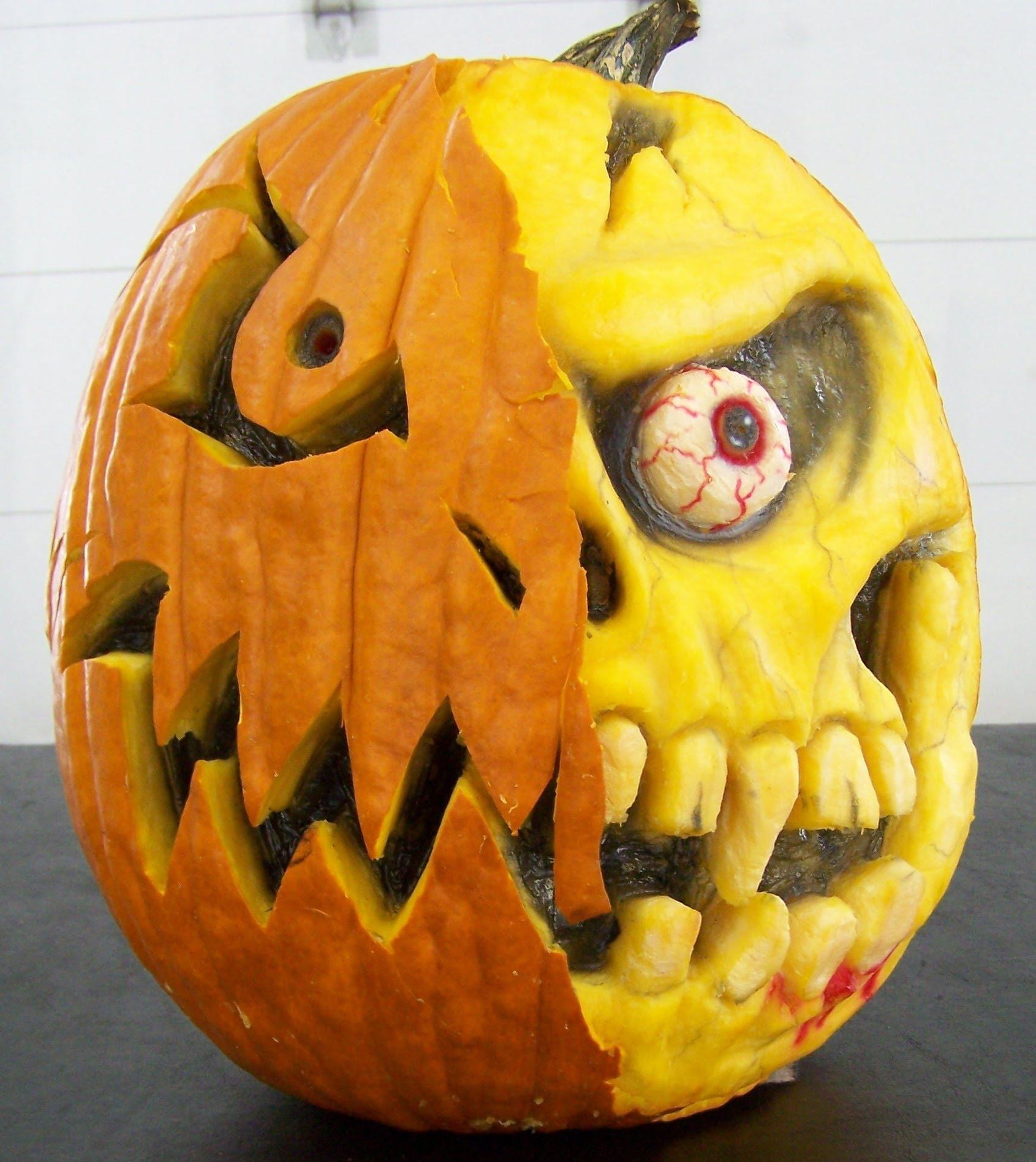 how to carve a 3 d pumpkin scottiedtv coolest cars on