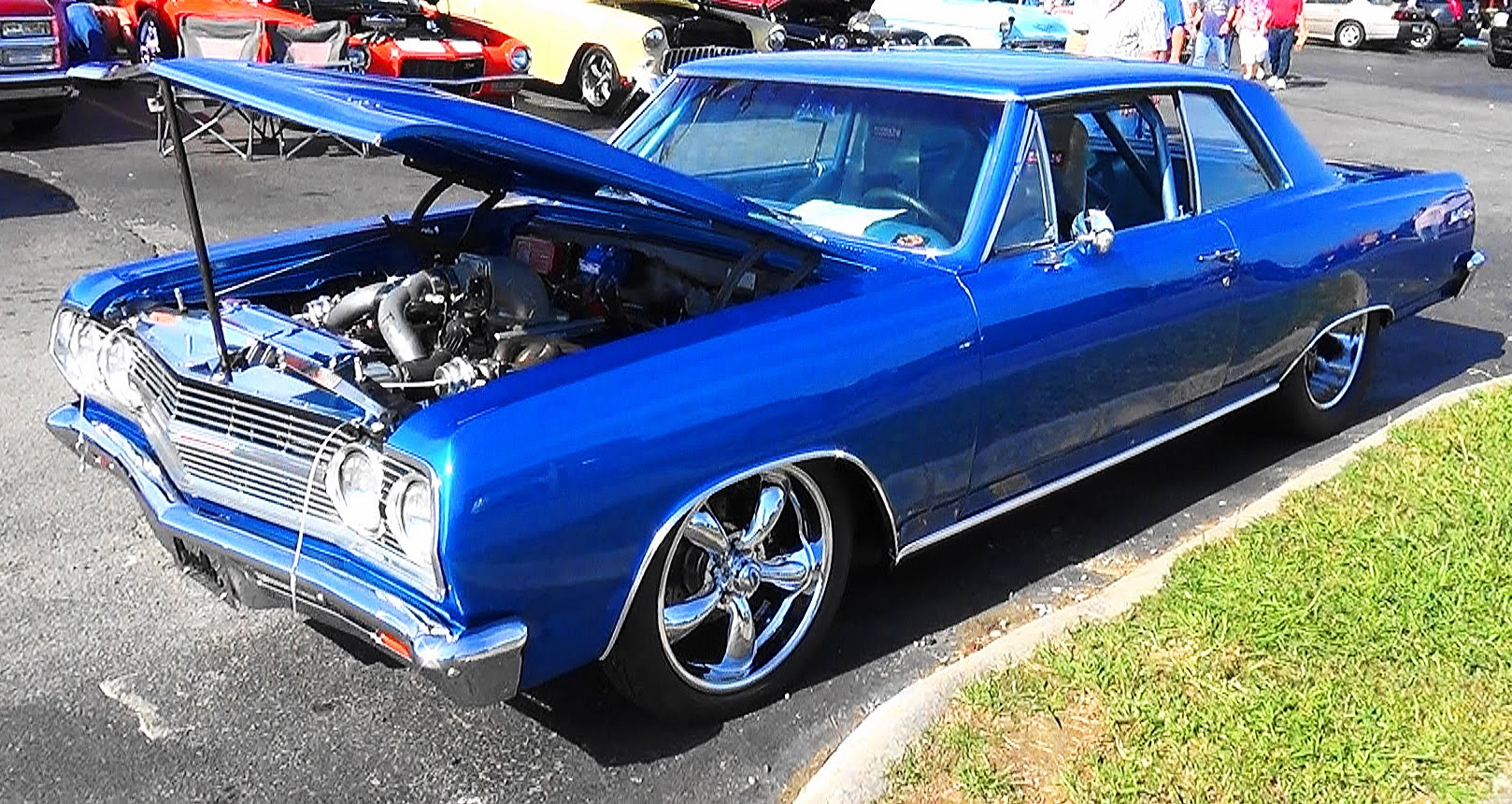65 chevrolet malibu ss twin turbo pigeon forge rod run scottiedtv coolest cars on the web. Black Bedroom Furniture Sets. Home Design Ideas
