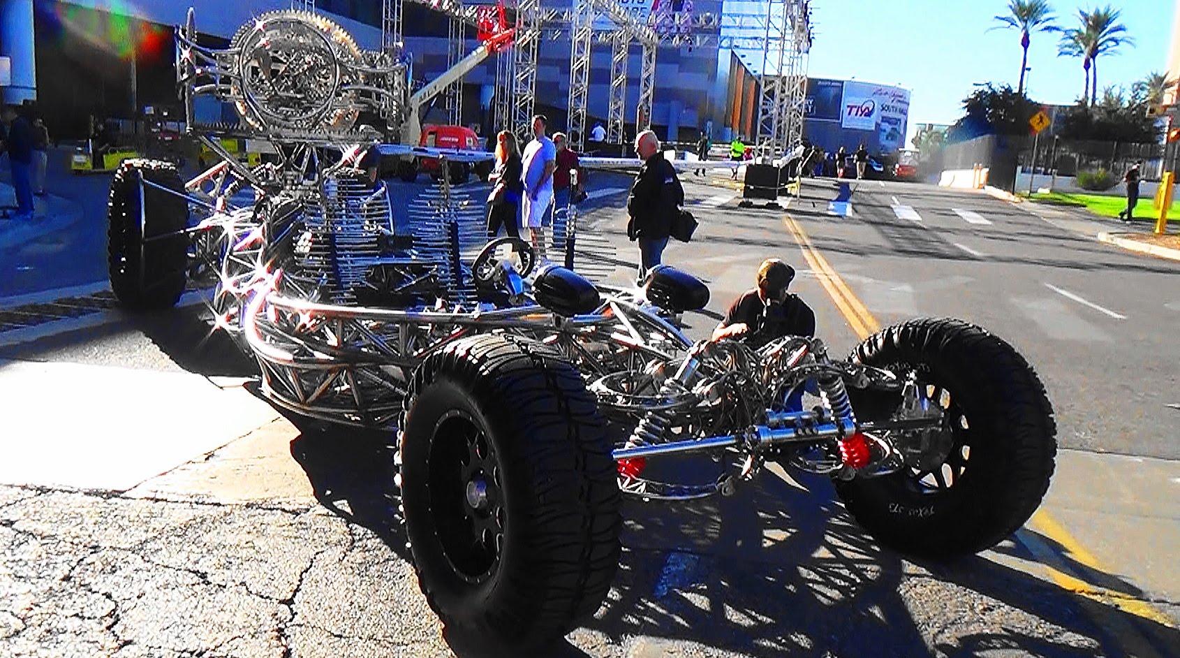 Mad Max Machine SEMA 2015 - ScottieDTV - Coolest Cars On ...