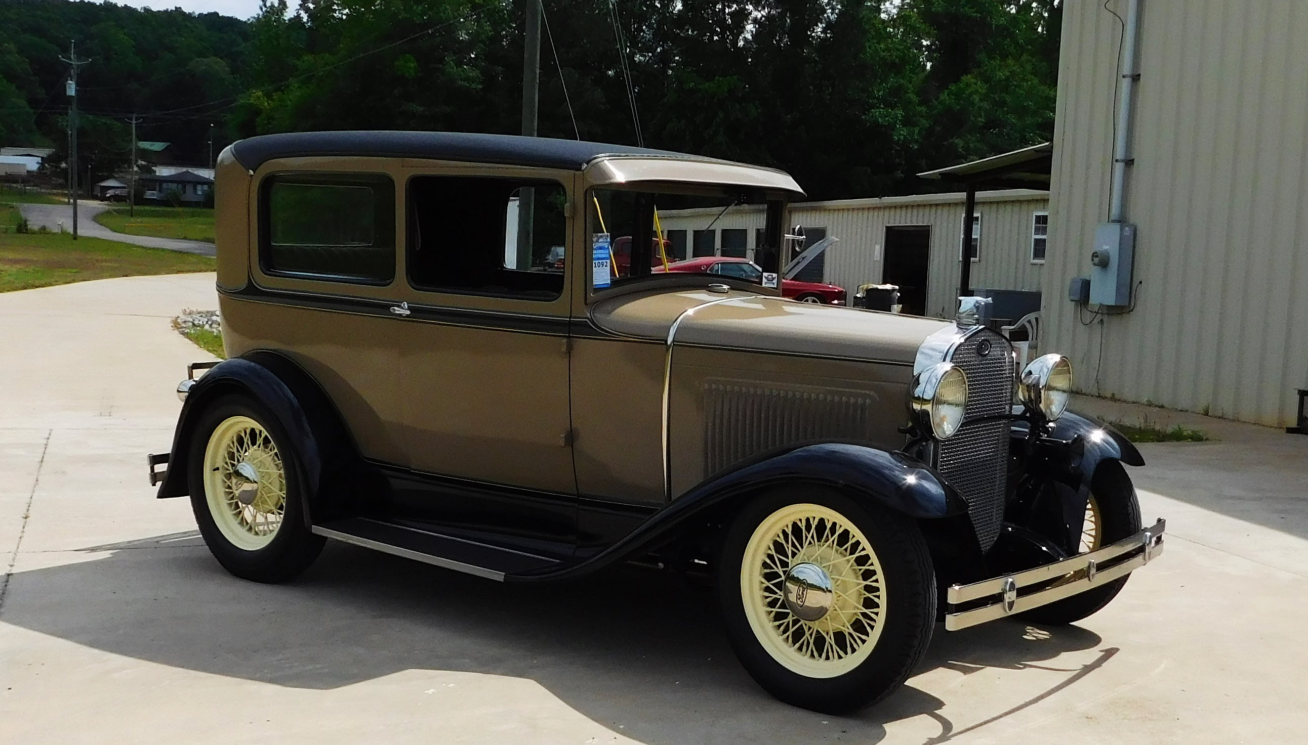 1931 ford model a street rod the ultimate sleeper big oak garage scottiedtv coolest cars on the web
