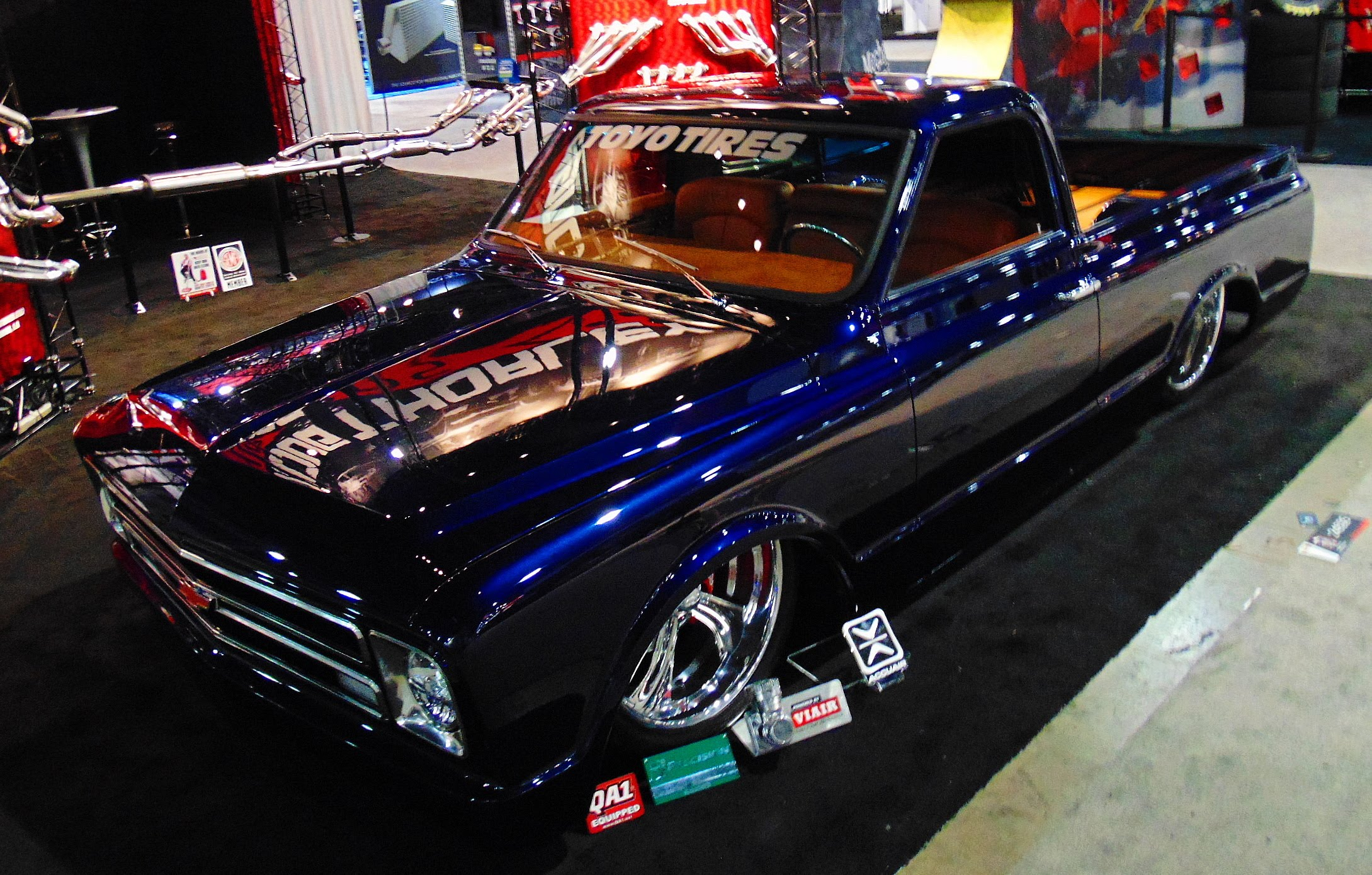 chevy c 10 street truck sema 2015 scottiedtv coolest cars on the web. Black Bedroom Furniture Sets. Home Design Ideas