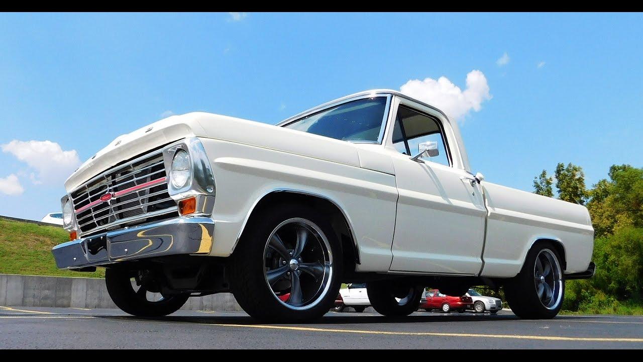 1968 Ford F100 Street Truck 2016 Pigeon Forge Rod Run