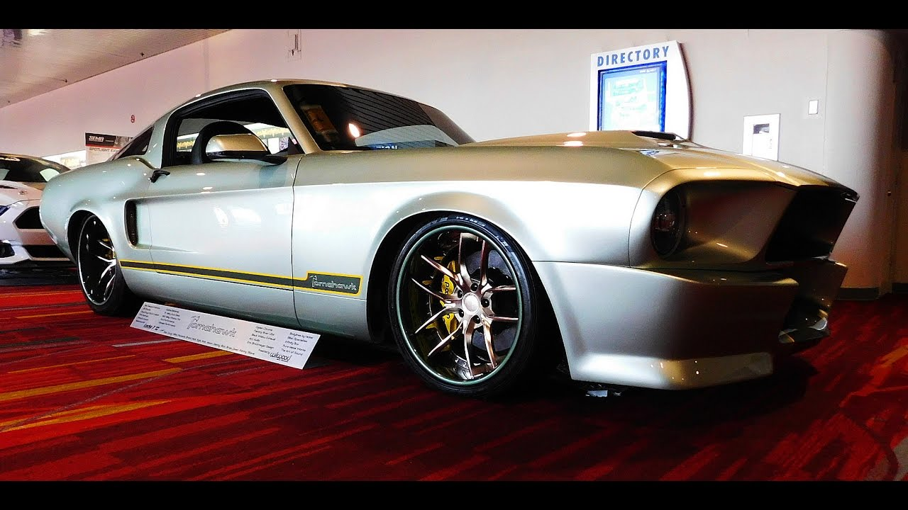 "1967 Ford Mustang Street Machine ""Tomahawk"" The SEMA Show 2016 - ScottieDTV - Coolest Cars On ..."