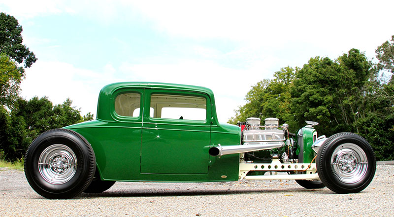 Traditional Homebuilt Heaven 1932 Chevy Coupe - ScottieDTV