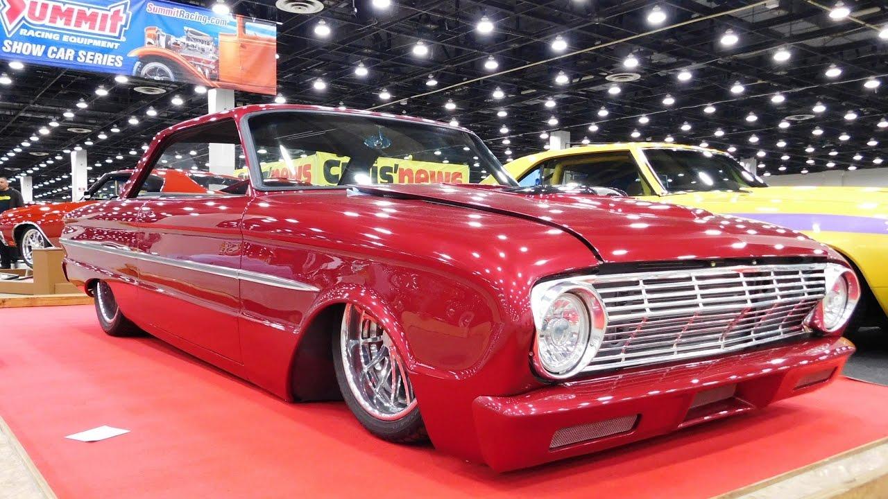 1963 Ford Falcon Street Machine 2017 Detroit Autorama - ScottieDTV - Coolest Cars On The Web