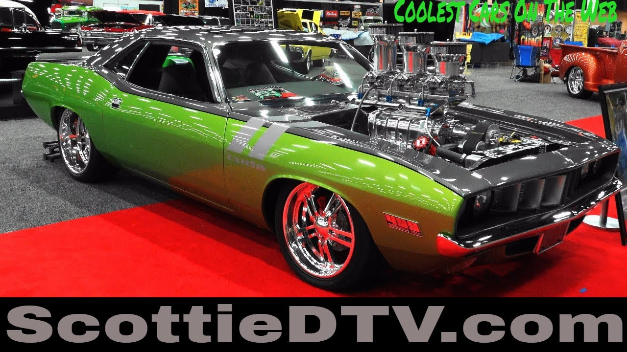 "1971 Plymouth Barracuda Pro Street ""Incredible Hulk"" 2017 ... 