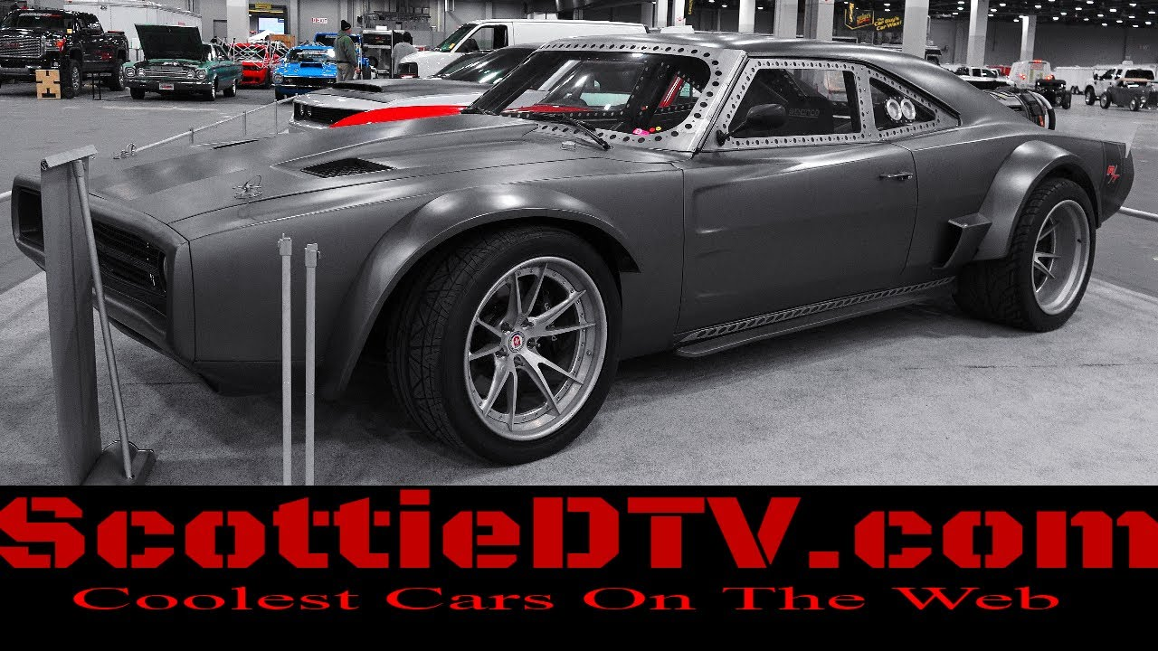 dom 39 s ice charger fast and furious f8 fate of the furious 2018 detroit autorama scottiedtv. Black Bedroom Furniture Sets. Home Design Ideas