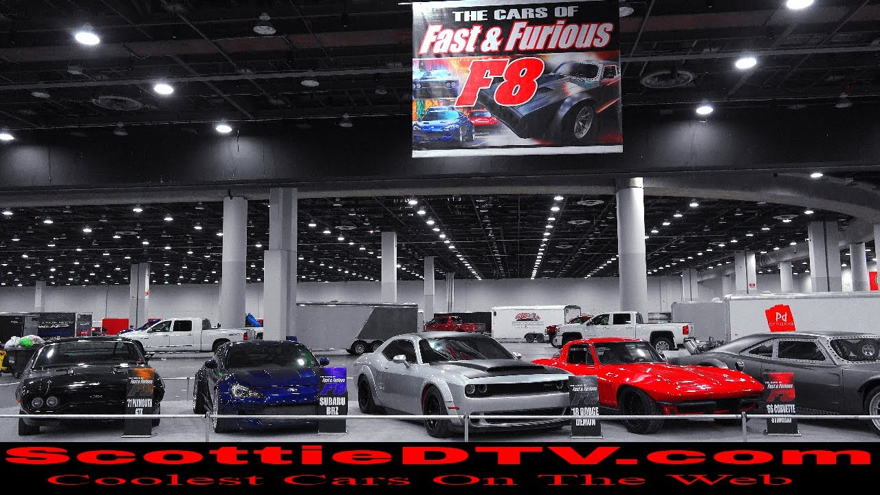 "Fast and Furious F8 Cars ""The Fate Of The Furious"" 2018 ..."