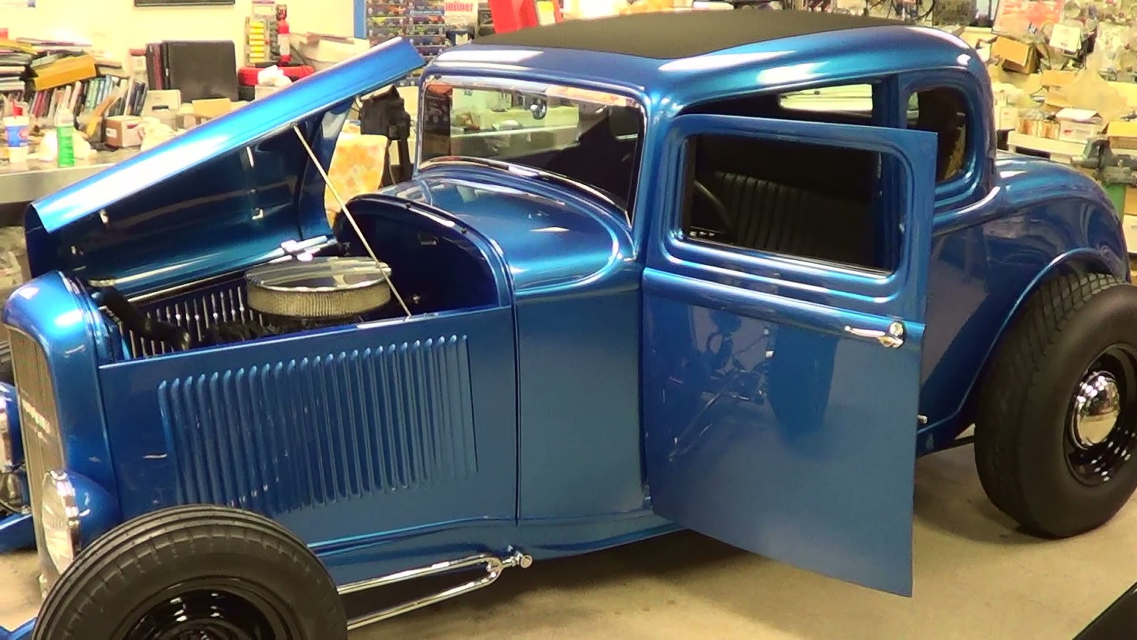 1932 Ford 5 Window Coupe Street Rod - ScottieDTV - Coolest Cars On ...