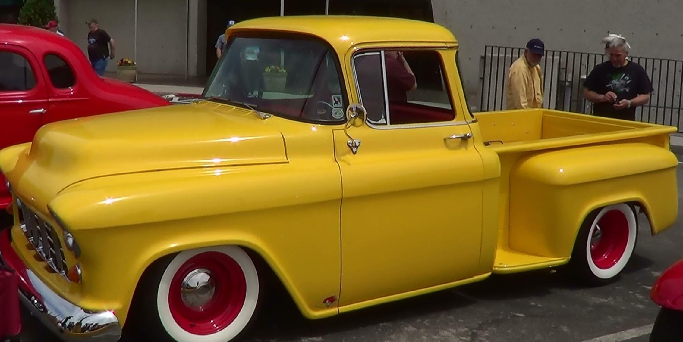1955 Chevrolet Street Rod Pick Up Scottiedtv Coolest Cars On The Web