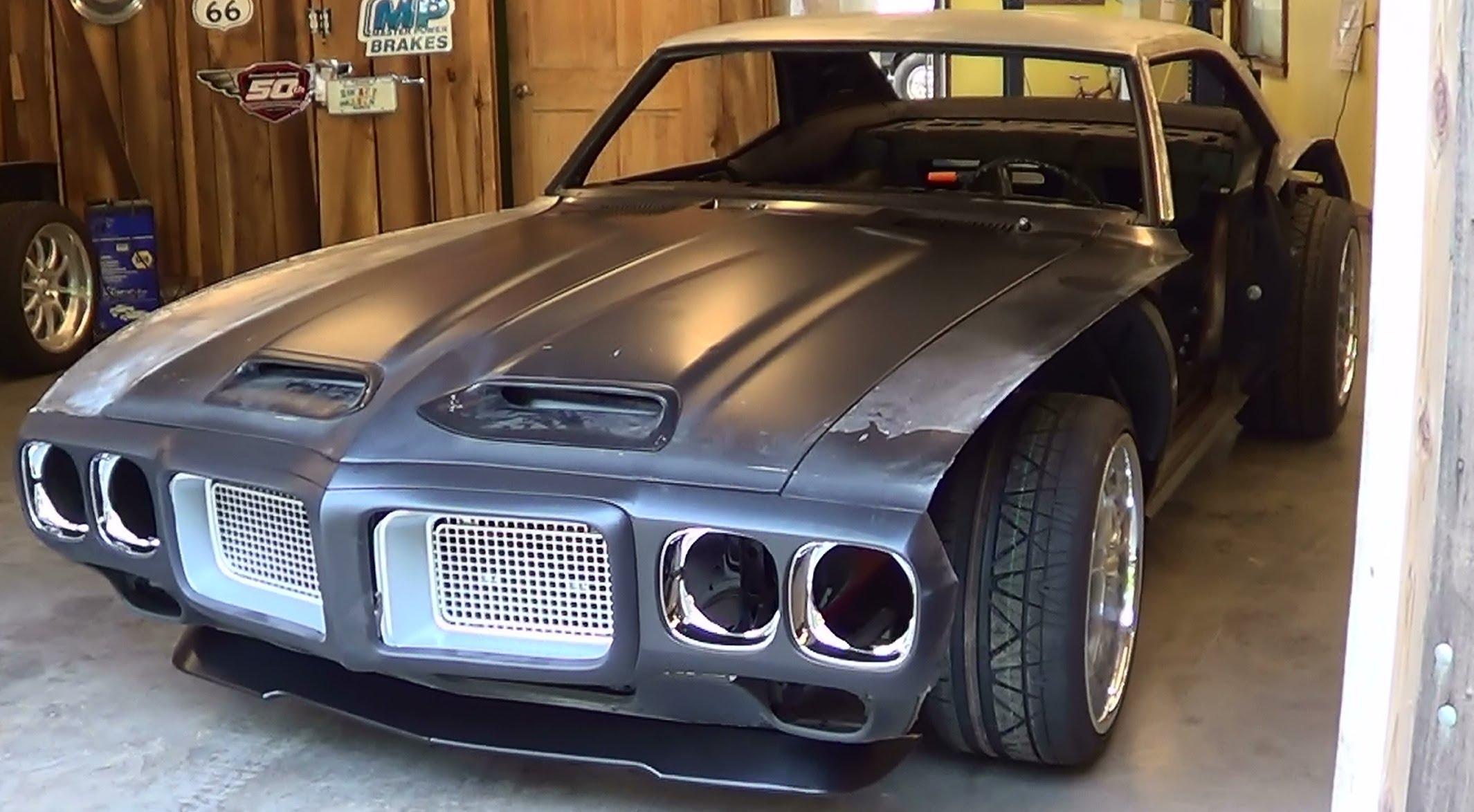 1969 Pontiac Firebird Project B Rod or Custom part2