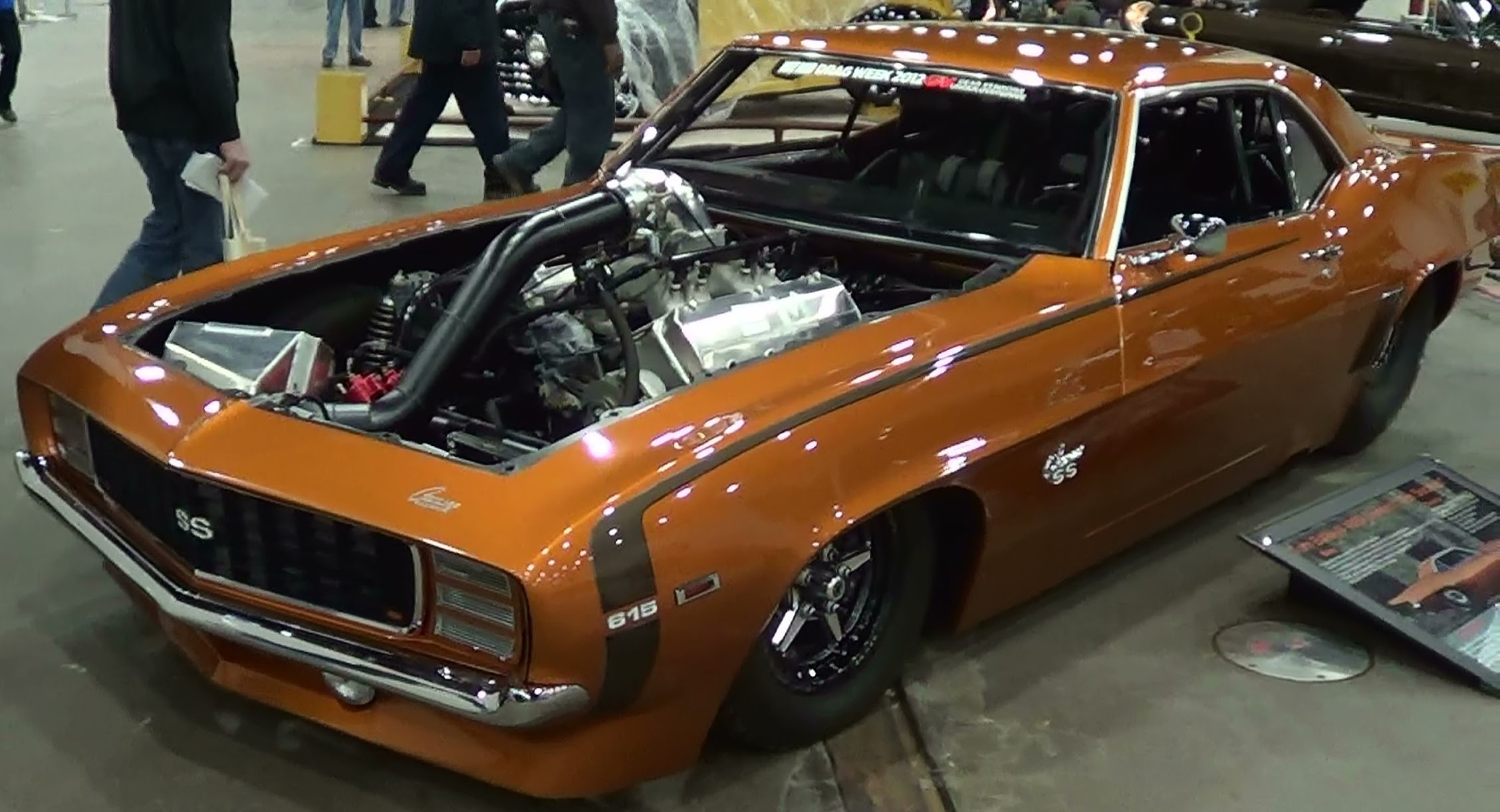 1969 Twin Turbo Camaro Sick Seconds 3350 Horse Street Car Scottiedtv Coolest Cars On The Web