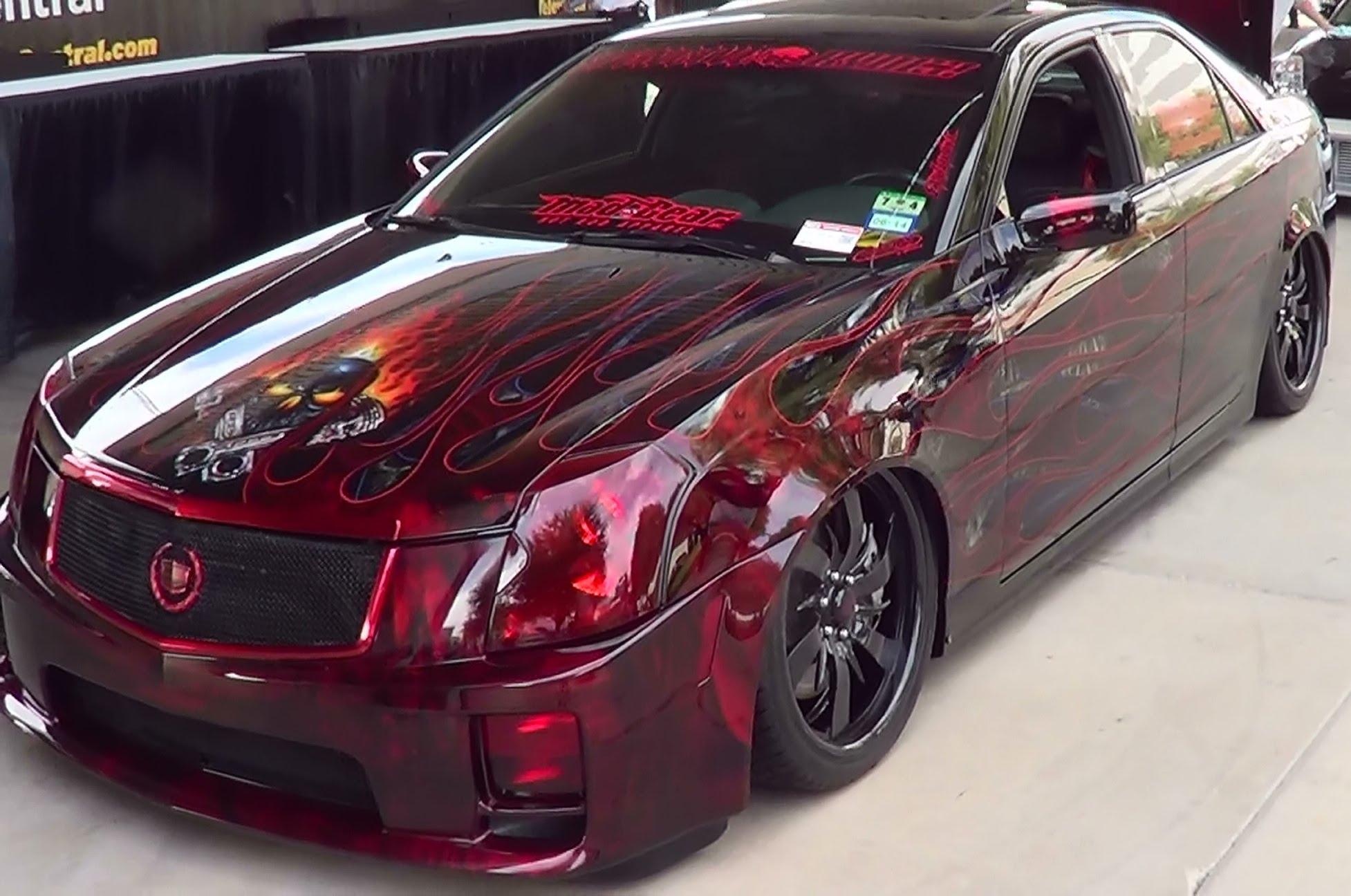 2004 Cadillac Cts V Custom Sema 2014 Scottiedtv