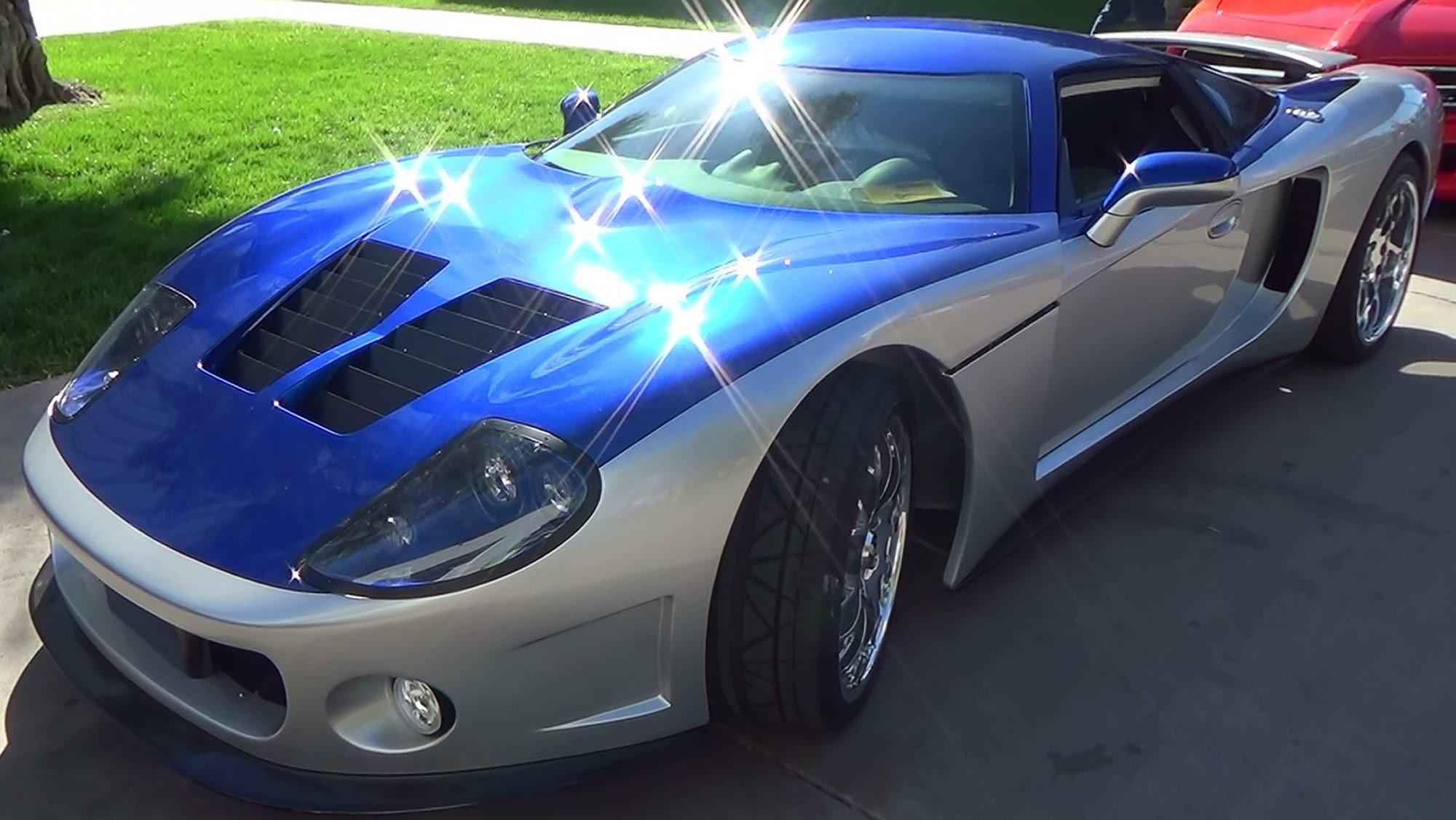 Factory Five GTM Supercar SEMA 2014 - ScottieDTV - Coolest