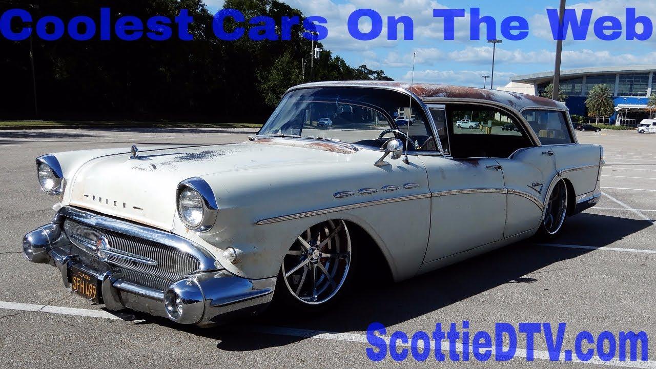 1957 Buick Caballero Station Wagon Hot Rod Cruisin' The Coast 2017 - ScottieDTV - Coolest Cars ...