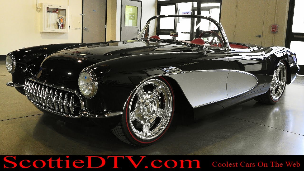 "Kindig It Design >> 1957 Chevrolet Corvette ""Kindig-It Design"" The Grand National Roadster Show 2018 - ScottieDTV ..."