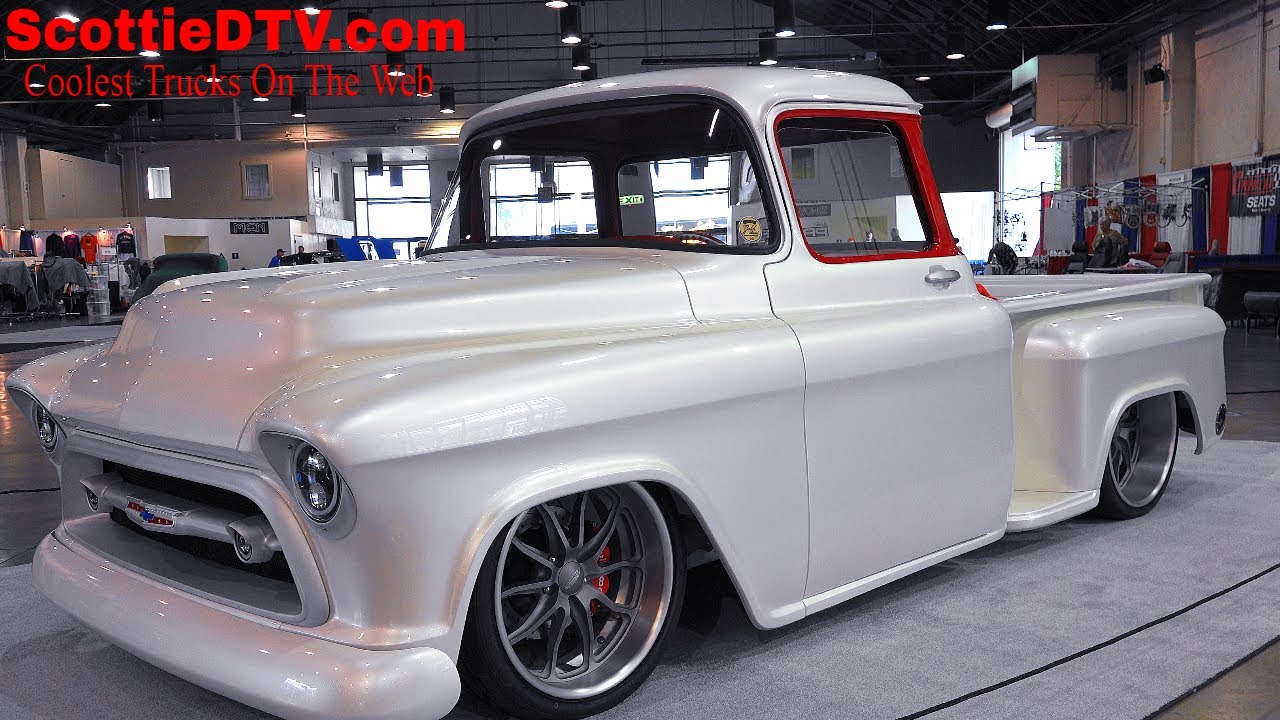 1957 Chevrolet 3100 Pickup Quot Snow White Quot Street Truck The
