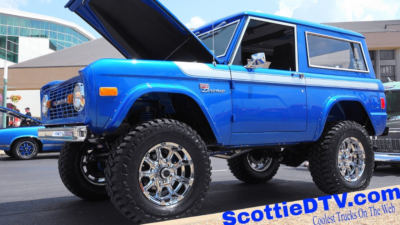 Ford Louisville Ky >> 1977 Ford Bronco 2018 NSRA Street Rod Nationals - ScottieDTV - Coolest Cars On The Web
