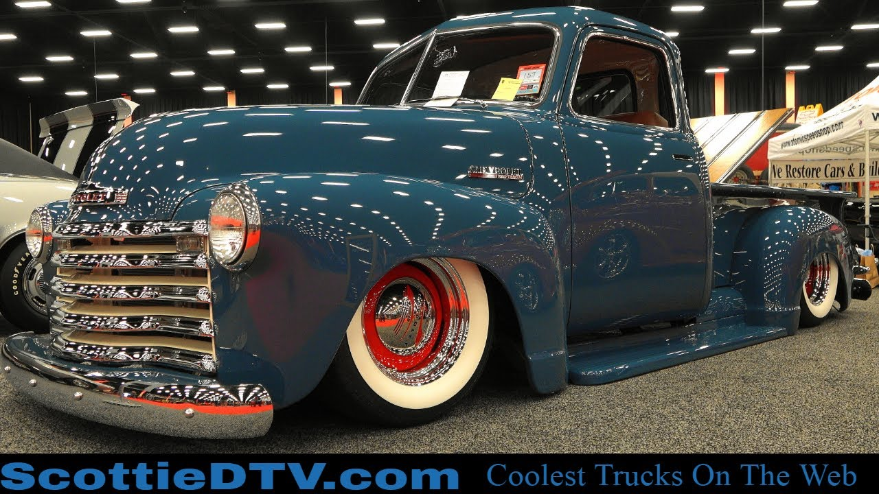 1949 Chevrolet 3100 Pickup 2019 Pigeon Forge Rod Run - ScottieDTV - Coolest Cars On The Web
