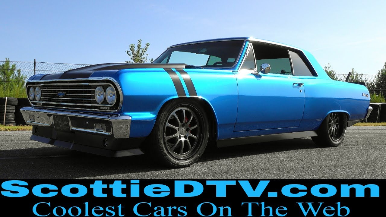 1964 Chevrolet Chevelle 2019 Concept One Pulley Systems ...